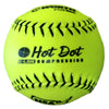 "Worth NSA Hot Dot OS 11"" 52/275 Synthetic Slowpitch Softballs: NO11SY"