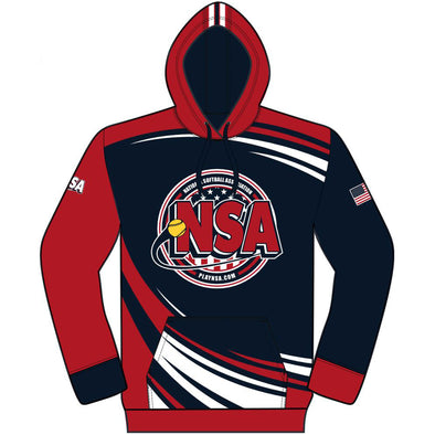 National Softball Association (NSA) USA Hoodie