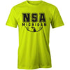 NSA Michigan Safety Green Cooling Performance Crewneck Shirt: A4282-SG