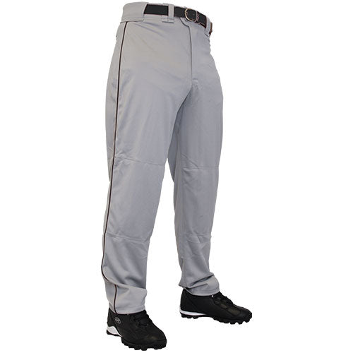 Rawlings Adult Flare Pro Relaxed Fit Baseball / Softball Pants with Piping: PP350MRP