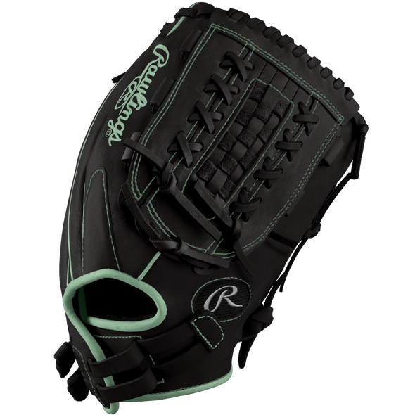 "Rawlings Heart of the Hide 12.5"" Midnight Mint DSG Exclusive Fastpitch Glove: PRO125SB-18MMDSG"