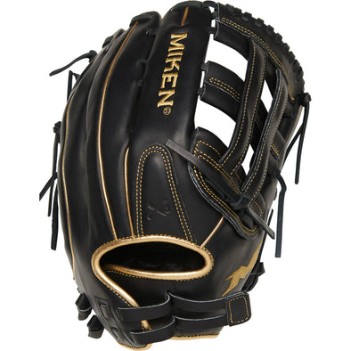 "Miken Gold Limited Edition 13"" Slowpitch Glove: PRO130-BG"