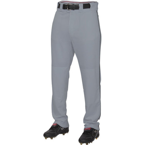 Rawlings Adult Premium Semi-Relaxed Baseball / Softball Pants with Piping: PRO150P