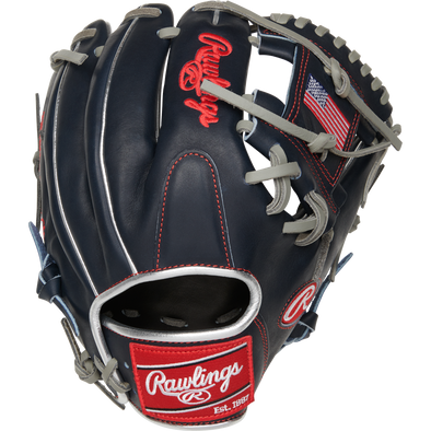 "Rawlings Heart of the Hide 11.5"" USA Baseball Glove: PRO204-2USA"