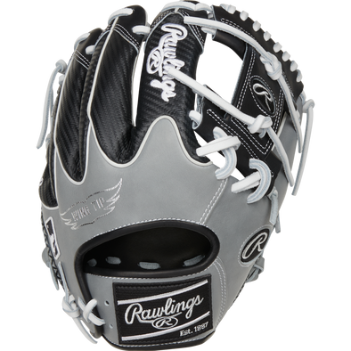 "Rawlings Heart of the Hide Color Sync 5.0 11.75"" Baseball Glove: PRO205W-2BWG"