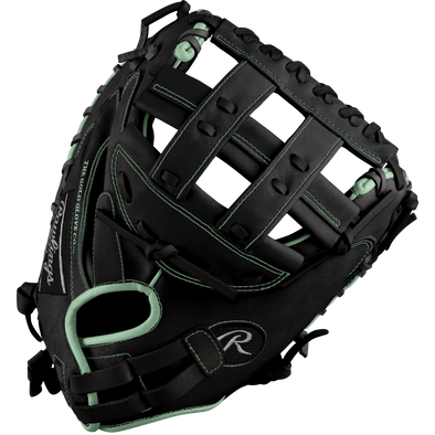 "Rawlings Heart of the Hide 33"" Midnight Mint DSG Exclusive Fastpitch Catcher's Mitt: PROCM33FP-24MMDSG"