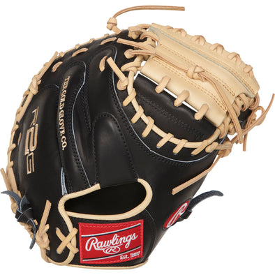 "Rawlings Heart of the Hide R2G 33"" Baseball Catcher's Mitt: PRORCM33-23BC"