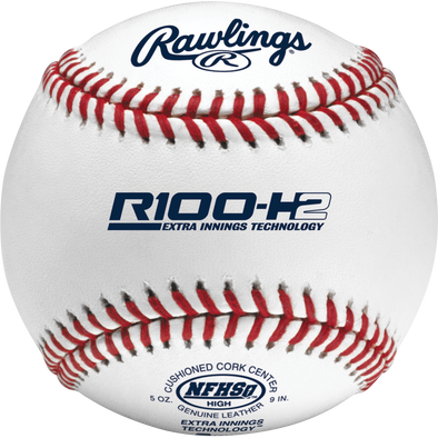 Rawlings R100 NFHS NOCSAE High School Baseballs: R100-H2