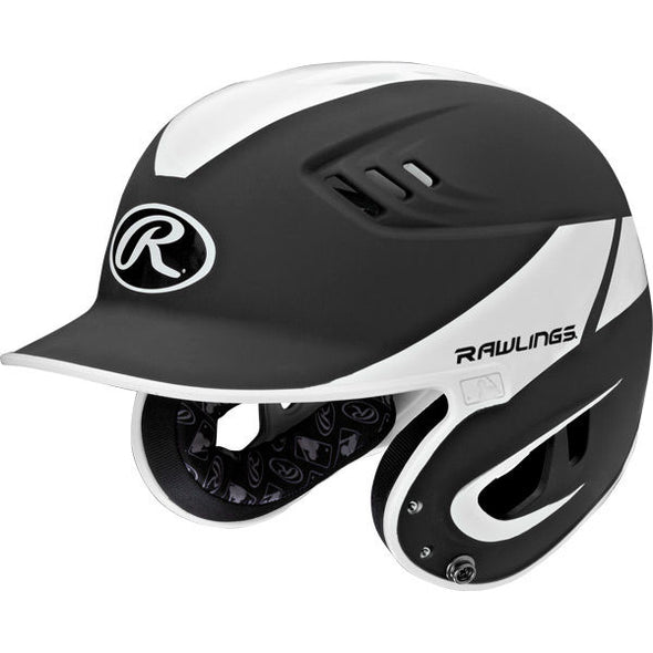 Rawlings Velo 2-Tone Matte Away Batting Helmet: R16A2