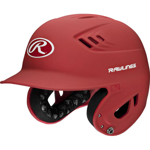 Rawlings Velo Matte Batting Helmet: R16