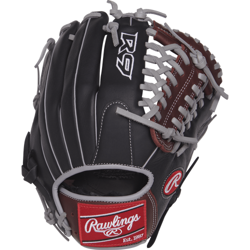 "Rawlings R9 11.75"" Baseball Glove: R9205-4BSG"