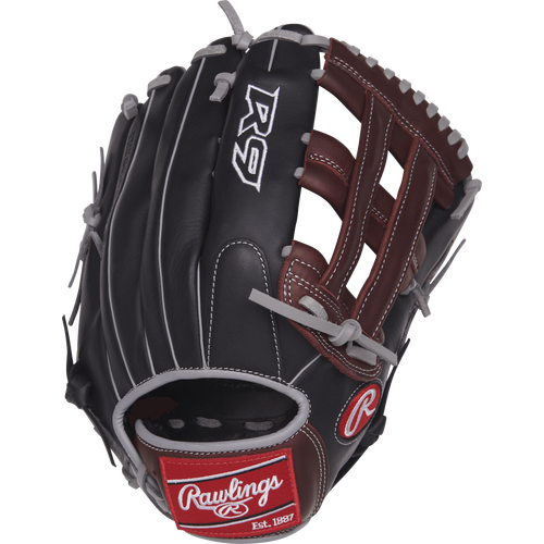 "Rawlings R9 12.75"" Baseball Glove: R93029-6BSG"