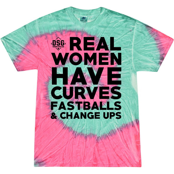DSG Apparel Real Women Tie Dye T-Shirt: TD-REALW