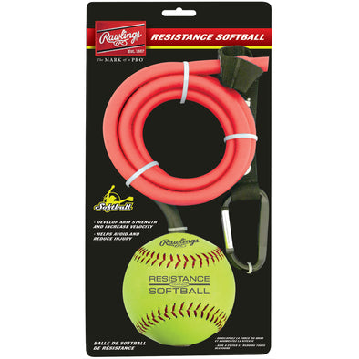 "Rawlings Resistance Band with 12"" Ball: RESISTSOFTBALL"