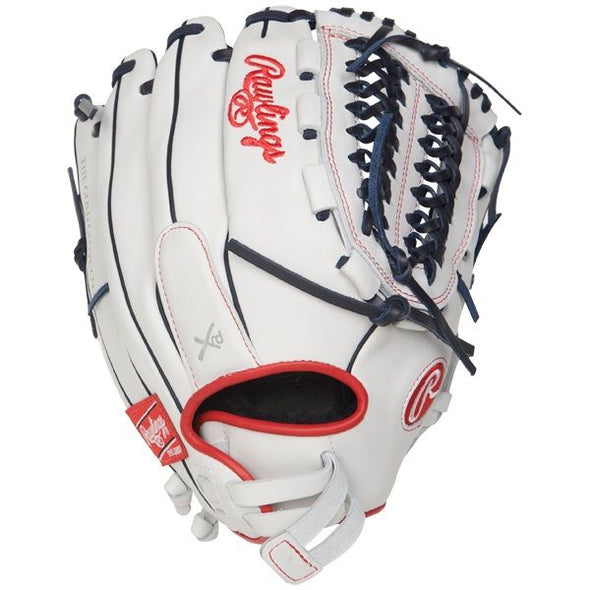 "Rawlings Liberty Advanced 12.5"" Finger Shift Fastpitch Glove: RLA125FS-15WNS"