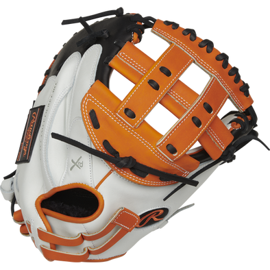 "Rawlings Liberty Advanced Color Sync 2.0 33"" Fastpitch Catcher's Mitt: RLACM33FPOB"