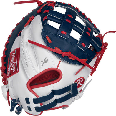 "Rawlings Liberty Advanced Color Sync 33"" Fastpitch Catcher's Mitt: RLACM33FPWNS"