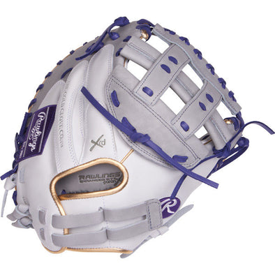 "Rawlings Liberty Advanced Color Sync 33"" Fastpitch Catcher's Mitt: RLACM33FPWPU"