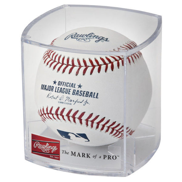 Rawlings MLB Official Baseball with Case: ROMLB-R