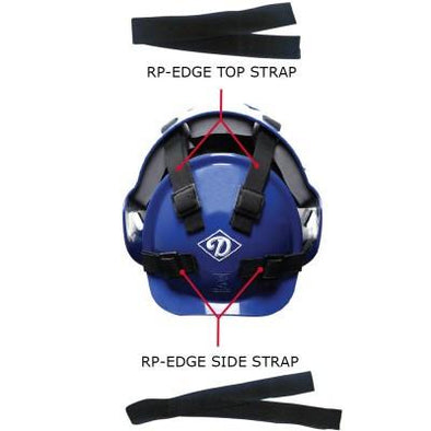 Diamond Edge Series Hockey Style Catcher's Top Strap Replacement: RP-EDGE TOP STRAP
