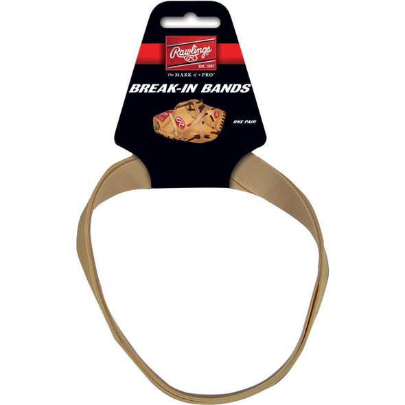 Rawlings Jumbo Break In Rubber Bands: RUB