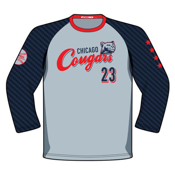 Champro Custom Sublimated Raglan 3/4 Sleeve Jersey: JUICE RAGLAN