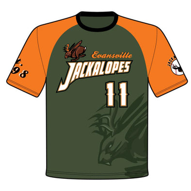 Champro Custom Sublimated Crew Neck Juice Uniforms: JUICE