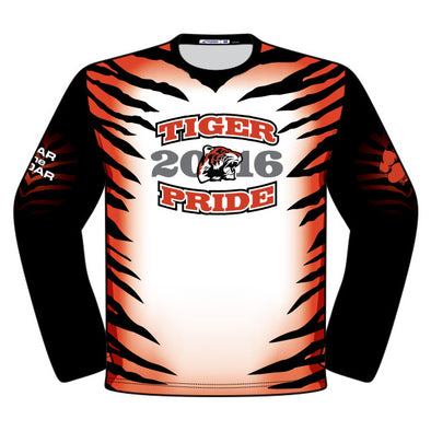Champro Custom Sublimated Crew Neck Long Sleeve Shirt: JUICE LONG