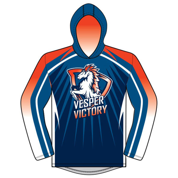 Champro Custom Sublimated T-Shirt Hoodies: JUICE THOODIES