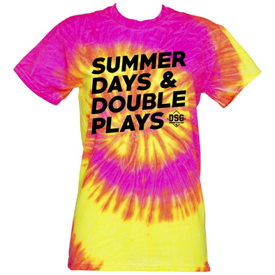 DSG Apparel Summer Days Tie Dye T-Shirt: TD-SDDP