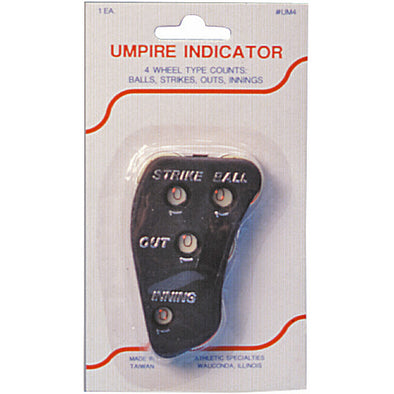 Athletic Specialties 4 Wheel Umpire Indicator: UM4