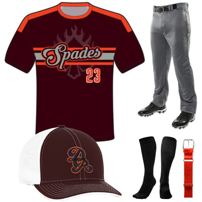 Baseball Sublimated Juice Package 1: JUICE BB1
