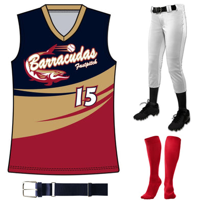 Fastpitch Sublimated Juice Package 1: JUICE FP1