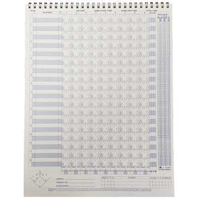Diamond Sport Gear 18 Player Vertical Scorebook: SBB