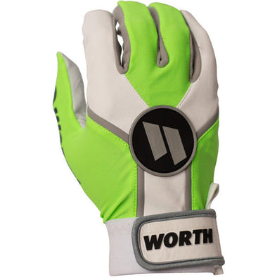 Worth Team Adult Batting Gloves: WBATGL-NG