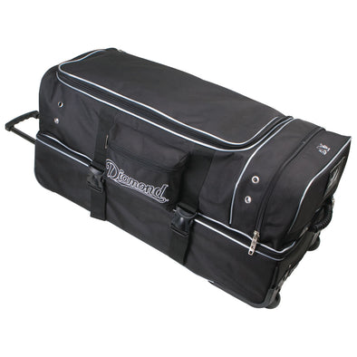 Diamond Deluxe Wheeled Pro Umpire Gear Bag: WHL DLX UMP 33 BAG