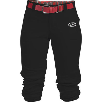 Rawlings Girl's Launch Low Rise Fastpitch Softball Pants: WLNCHG