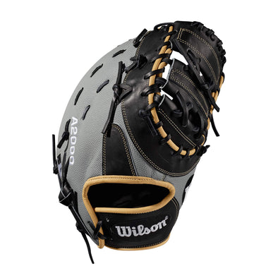 "Wilson A2000 1617 SuperSkin 12.5"" Baseball First Base Mitt: WTA20RB191617SS"