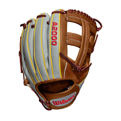 "Wilson A2000 DP15 11.75"" Dustin Pedroia GM SuperSkin Baseball Glove: WTA20RB19DP15GM"