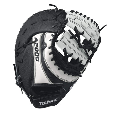 "Wilson A2000 BM12 12"" SuperSkin Fastpitch First Base Mitt: WTA20RF17BM12SS"
