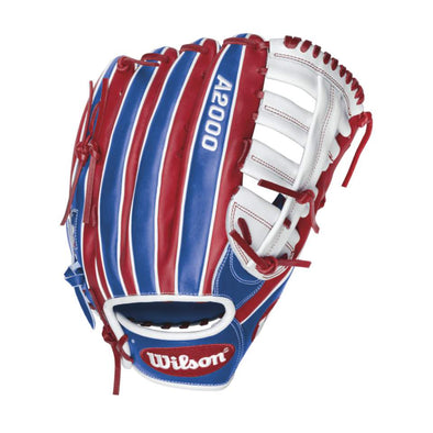 "Wilson A2000 13"" 'Merica Slowpitch Glove: WTA20RS16CL22"