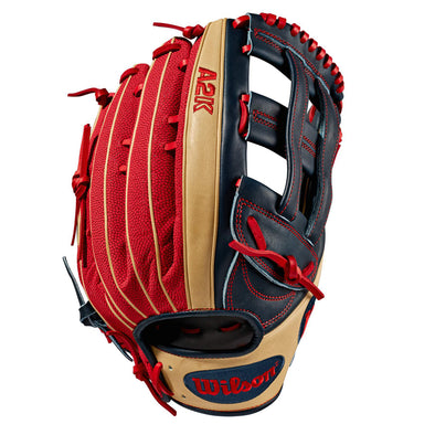 "Wilson A2K MB50 12.75"" Mookie Betts GM SuperSkin Baseball Glove: WTA2KRB19MB50GM"