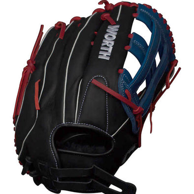 "Worth XT Extreme 13"" Slowpitch Glove: WXT130"