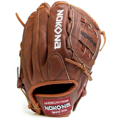 "Nokona Walnut 12"" Baseball Glove: W-1200"