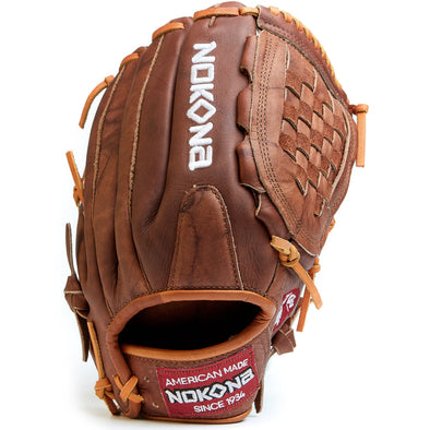 "Nokona Walnut Classic 13"" Slowpitch Glove: W-1300C"