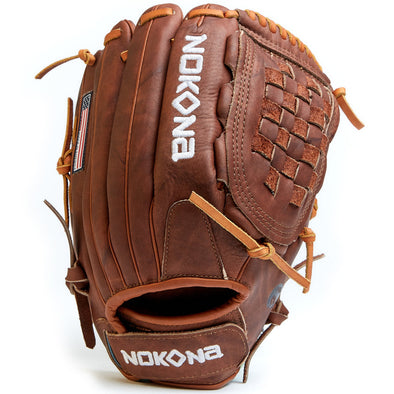 "Nokona Walnut 12.5"" Fastpitch Glove: W-V1250"