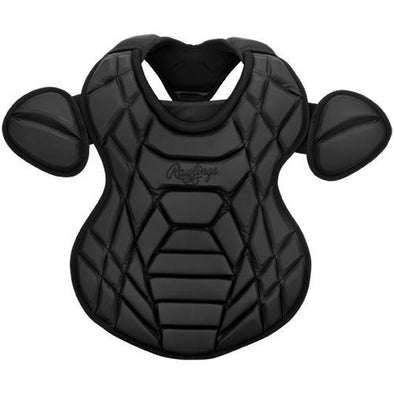 Rawlings XRD Matte Black Out Catcher's Chest Protector: XCPM