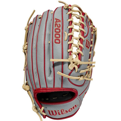 "Wilson A2000 OT7SS 12.75"" SuperSkin Baseball Glove: WBW1001041275"