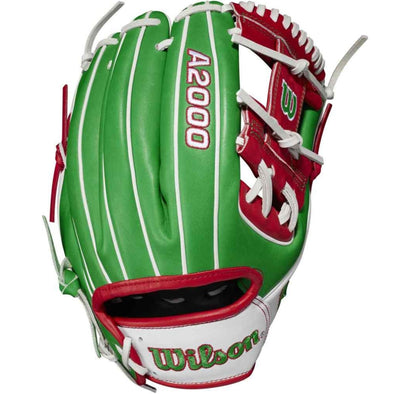 "Wilson A2000 1786 11.5"" Mexico Limited Edition Baseball Glove: WBW100334115"