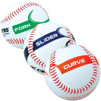 Champro Sports Pitcher Training Baseballs: CBB821 / CBB822 / CBB823